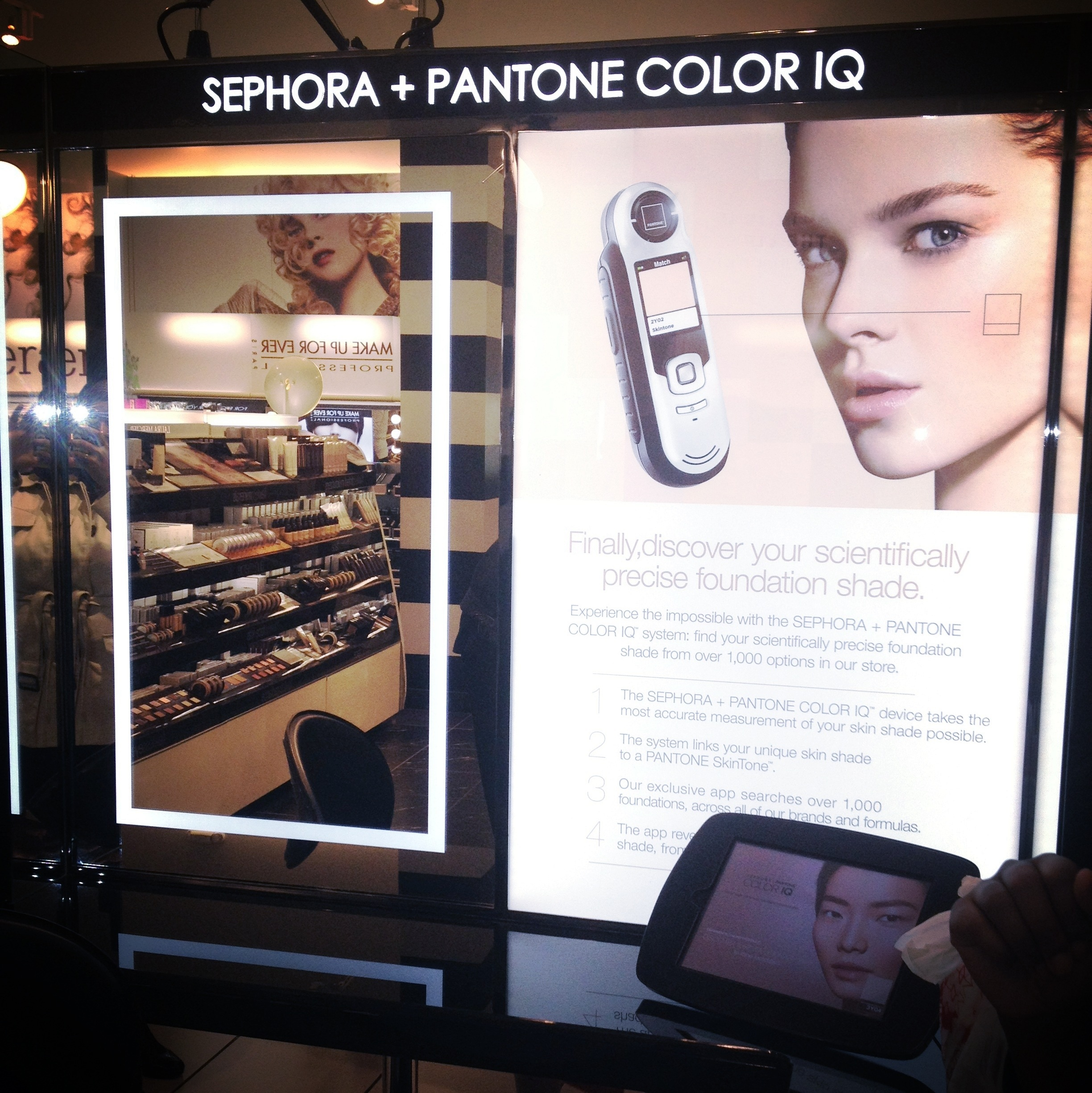 Perfect Foundation Match: Sephora + Pantone Color IQ