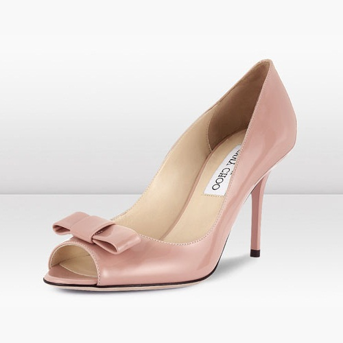 Jimmy Choo Blush Bow Tie Pump