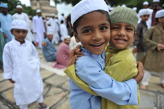 Muslim Children in Hyderabad