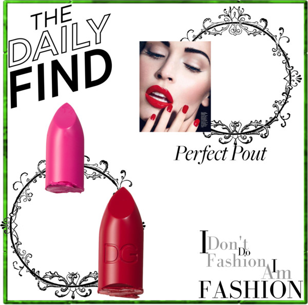 hot pink and red lipstick looks