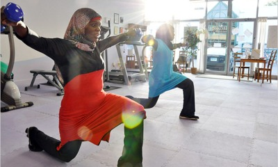 Hijabi fitness