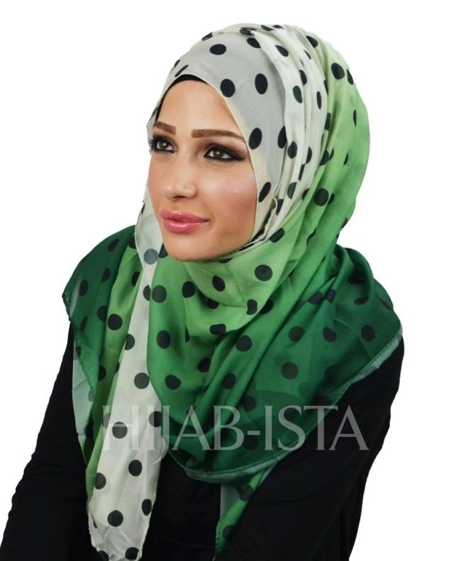 Hijab-ista Polka Dot Hijab