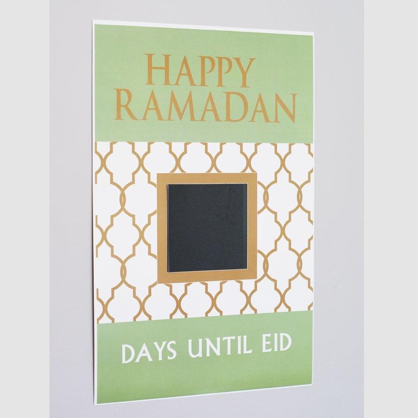 Ramadan Countdown Poster